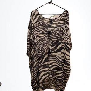 🐸 Plus Size Swim Coverup / Kimono